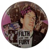Sex Pistols - 'Filth and the Fury' Button Badge